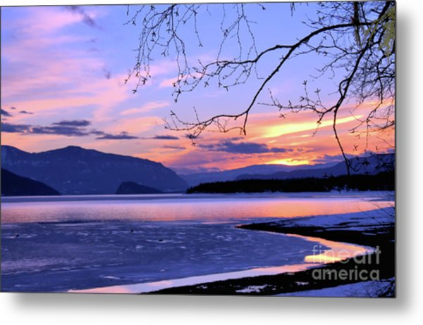 February Sunset 2 Metal Print