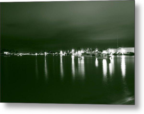 Feelin Green On The Seas Metal Print by Bradley Nichol