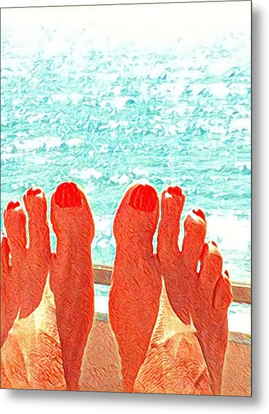 Feets Don't Fail Me Now Metal Print