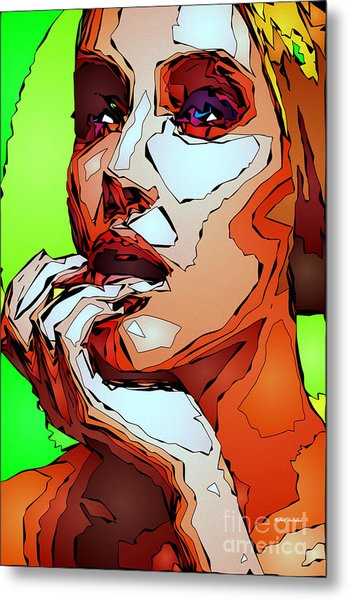 Female Expressions Metal Print