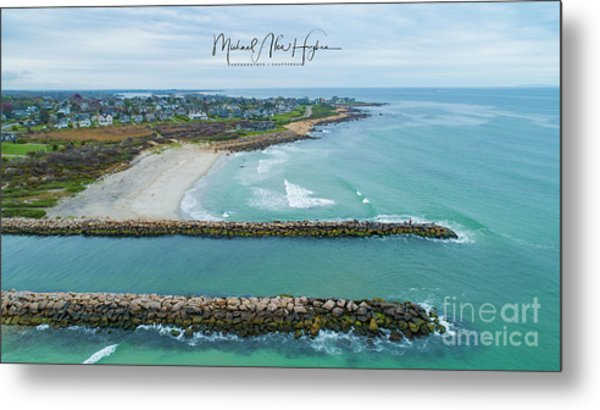 Fenway Beach, Weekapaug Metal Print
