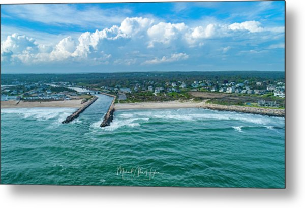 Fenway Beach, Weekapaug,ri Metal Print