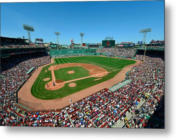 Fenway Park - Boston Red Sox Metal Print