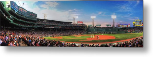 Fenway Park Panoramic - Boston Metal Print