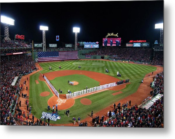 Fenway Park World Series 2013 Metal Print