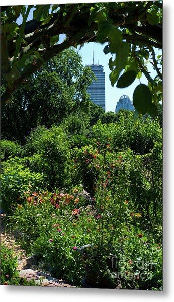 Fenway Victory Gardens In Boston Massachusetts  -30951-30952 Metal Print