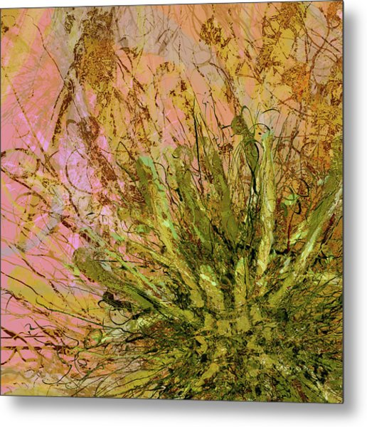 Fern Series 32 Fern Burst Metal Print