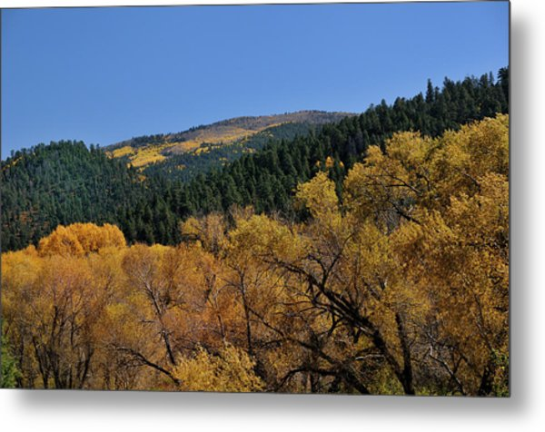 Metal Print featuring the photograph Fernando Peak by Ron Cline