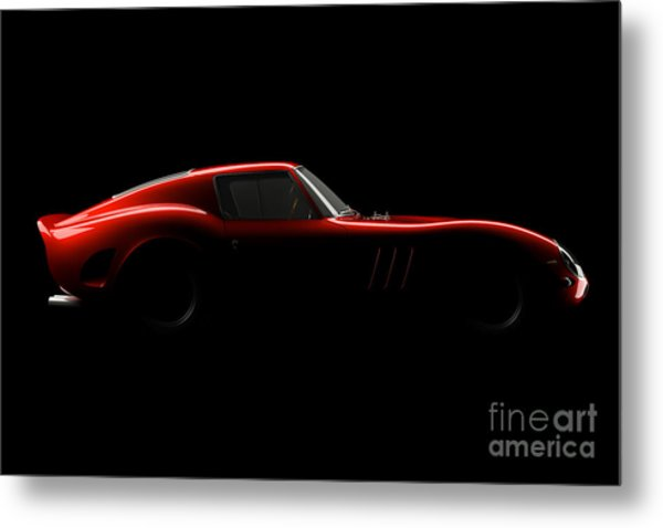 Ferrari 250 Gto - Side View Metal Print