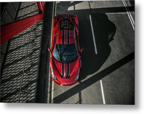 Ferrari 458 Speciale Metal Print