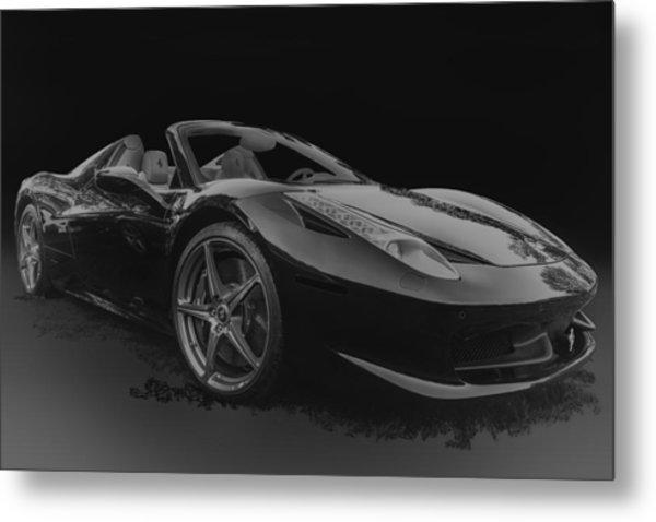 Ferrari 458 Spider Metal Print