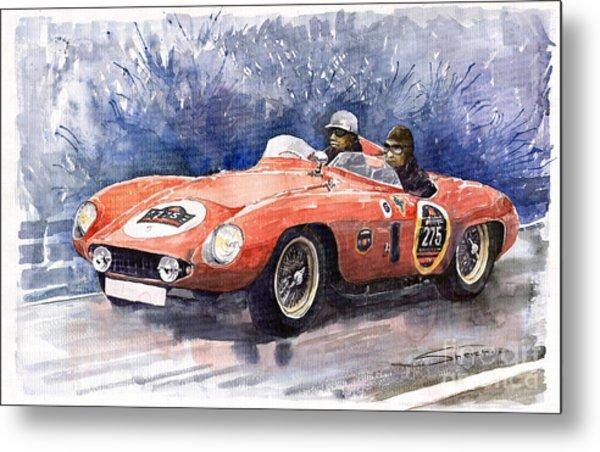 1953-1955 Ferrari 500 Mondial 1000 Miglia Metal Print