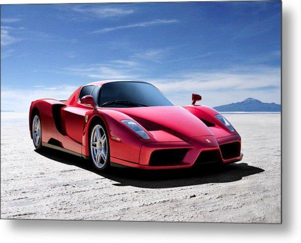 Ferrari Enzo Metal Print