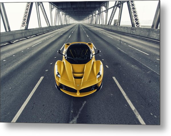 Metal Print featuring the photograph Ferrari Laferrari by ItzKirb Photography