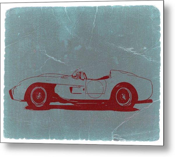 Ferrari Testa Rosa Metal Print