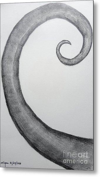 Fibonacci Spiral No.1 Metal Print