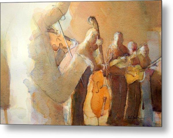 Fiddle Break Metal Print
