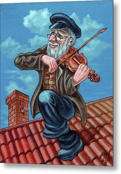 Fiddler On The Roof. Op2608 Metal Print