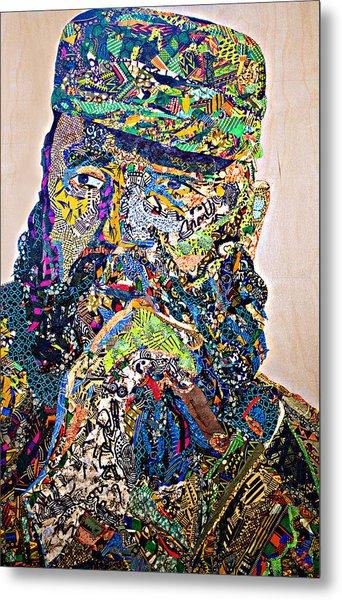 Fidel El Comandante Complejo Metal Print