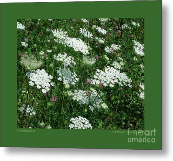 Field Bouquet-iv Metal Print
