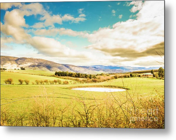 Fields Of Plenty Metal Print