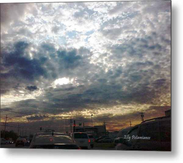 Fierce Skies Metal Print