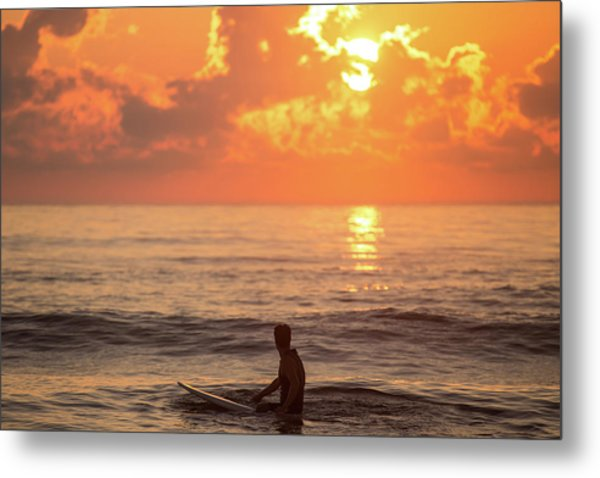 Fiery Morning Metal Print by AM Photography