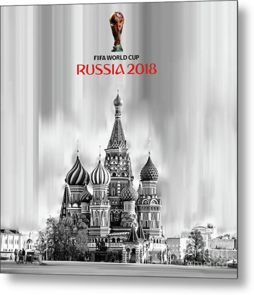 Fifa World Cup Russia 2018 Metal Print