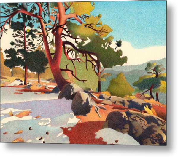 Fillius Ridge Metal Print