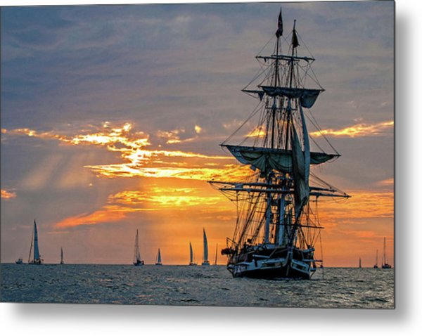 Final Voyage Metal Print