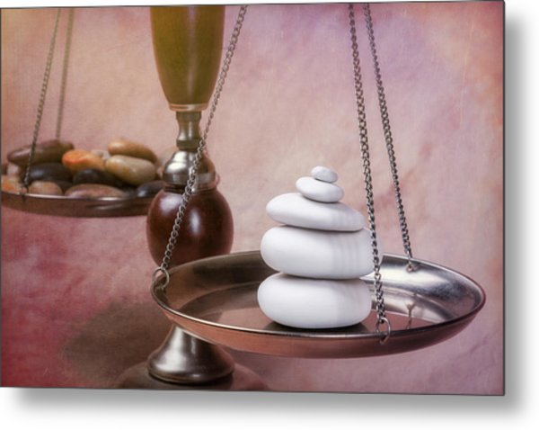 Find Your Balance Metal Print