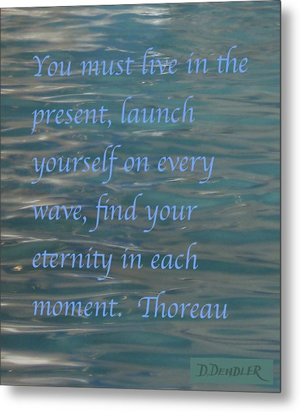 Find Your Eternity Metal Print