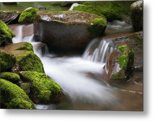 Metal Print featuring the photograph Find Your Path  by Expressive Landscapes Fine Art Photography by Thom