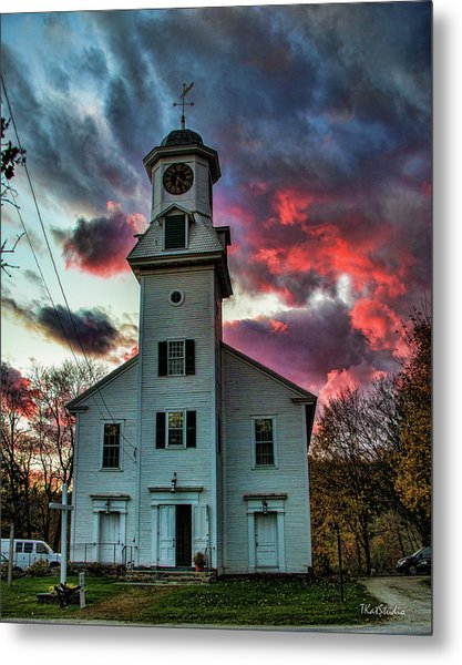 Fire And Brimstone Metal Print