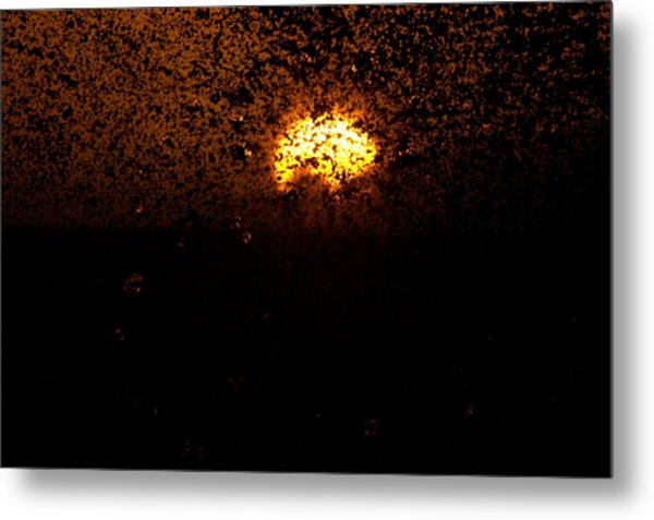 Fire And Water Metal Print by Brad Scott
