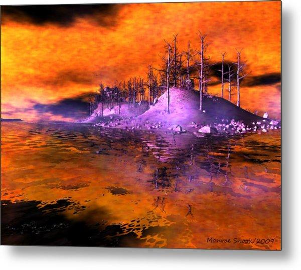 Fire Island Metal Print by Monroe Snook