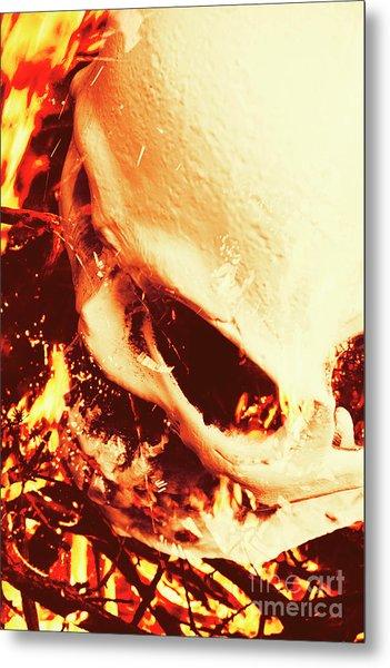 Fire Of Doom Metal Print