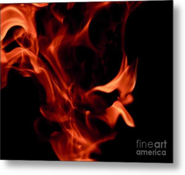 Fire Petals Metal Print