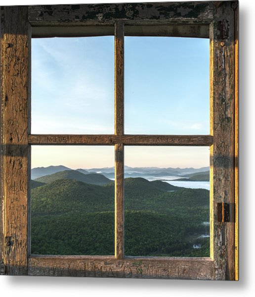 Fire Tower Frame Metal Print