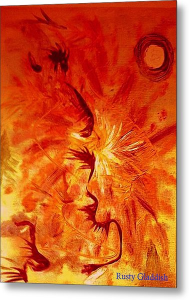 Firebrand Metal Print