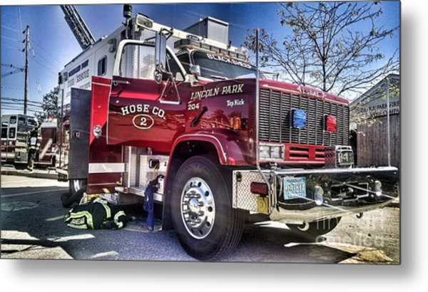 Firemen Honor And Sacrifice #2 Metal Print