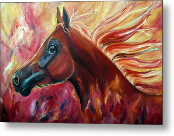Firestalker Metal Print by Stephanie Allison