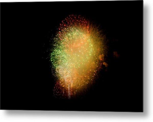 Fireworks  Metal Print by Brynn Ditsche