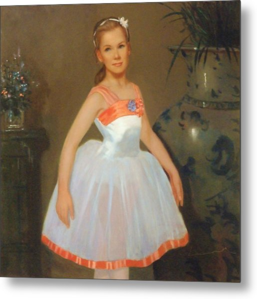 First Ballet  Nyc    Nutcracker Metal Print by David Olander