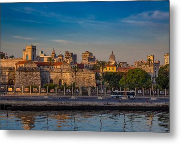 First Blush Havana, Cuba Metal Print