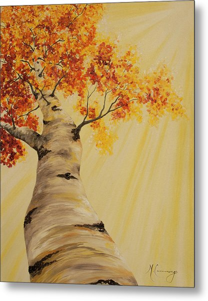 First Fall Light Metal Print