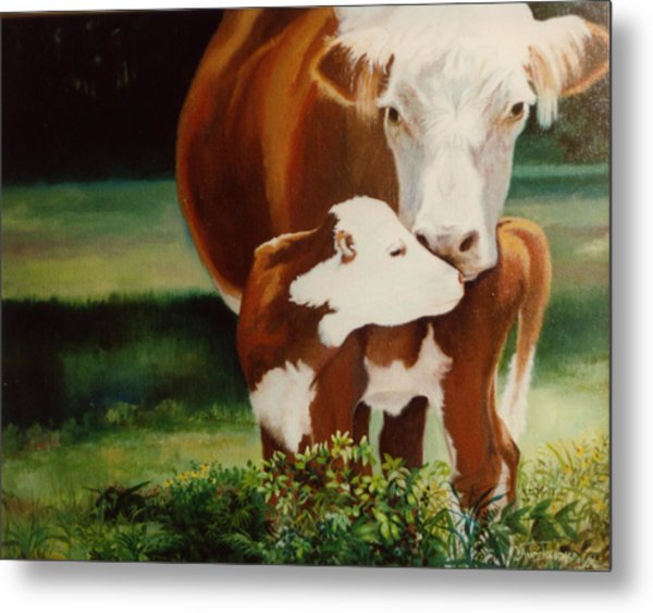 First Kiss Metal Print by Valerie Aune