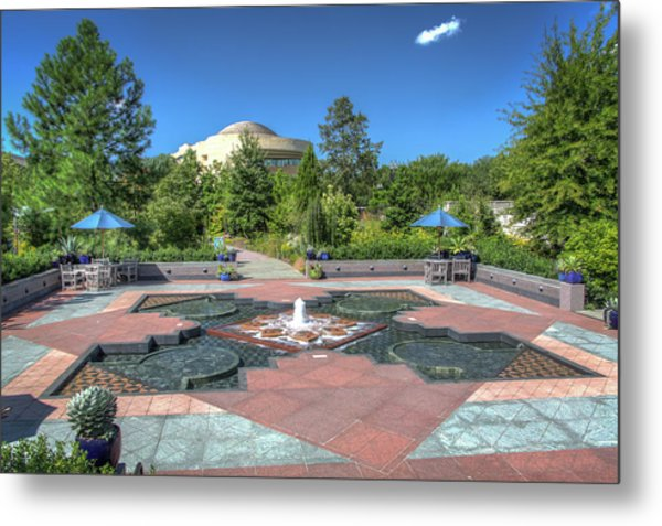 First Ladies Water Garden Metal Print