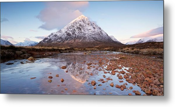 First Light In Glencoe Metal Print