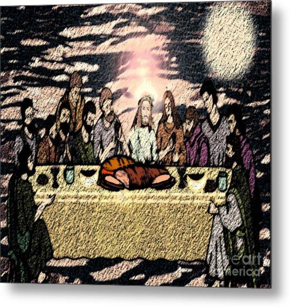 First Sacrament Metal Print